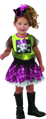 Toddlers Punk Pirate Costume - HalloweenCostumes4U.com - Infant & Toddler Costumes