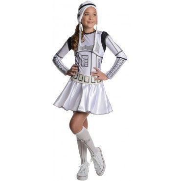 Teen Star Wars Storm Trooper Costume - HalloweenCostumes4U.com - Adult Costumes