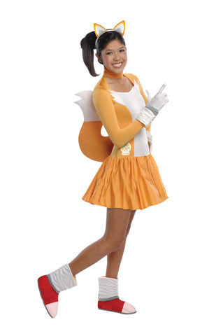 Teens Sonic the Hedgehog Tails Costume - HalloweenCostumes4U.com - Adult Costumes