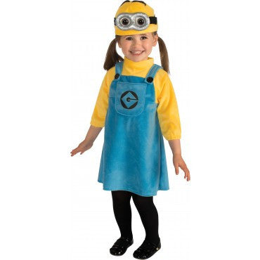Infants/Toddlers Despicable Me Minion Girl Costume - HalloweenCostumes4U.com - Infant & Toddler Costumes