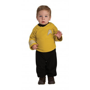 Infants Star Trek Captain Kirk Costume - HalloweenCostumes4U.com - Infant & Toddler Costumes