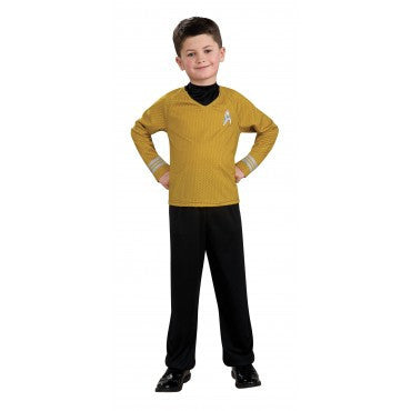 Boys Star Trek Captain Kirk Costume - HalloweenCostumes4U.com - Kids Costumes