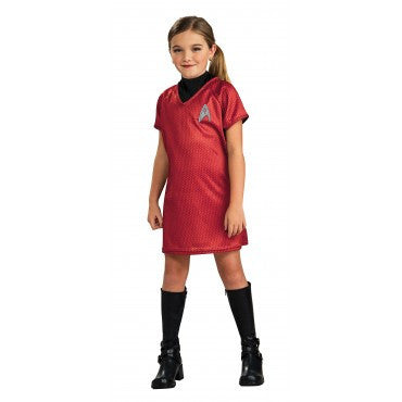 Girls Star Trek Uhura Costume - HalloweenCostumes4U.com - Kids Costumes