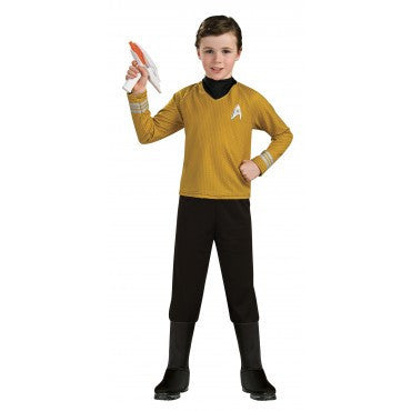 Boys Star Trek Deluxe Captain Kirk Costume - HalloweenCostumes4U.com - Kids Costumes
