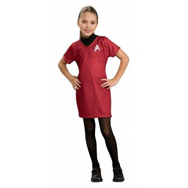Girls Star Trek Deluxe Uhura Costume - HalloweenCostumes4U.com - Kids Costumes