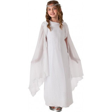 Girls The Hobbit Deluxe Galadriel Costume - HalloweenCostumes4U.com - Kids Costumes