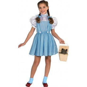 Girls Wizard of Oz Dorothy Costume - HalloweenCostumes4U.com - Kids Costumes