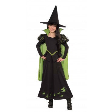 Girls Wizard of Oz Wicked Witch Of The West Costume - HalloweenCostumes4U.com - Kids Costumes