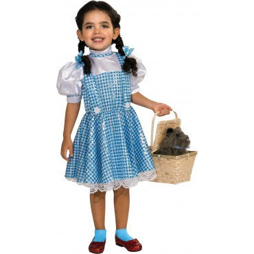 Girls Wizard of Oz Sequin Dorothy Costume - HalloweenCostumes4U.com - Kids Costumes