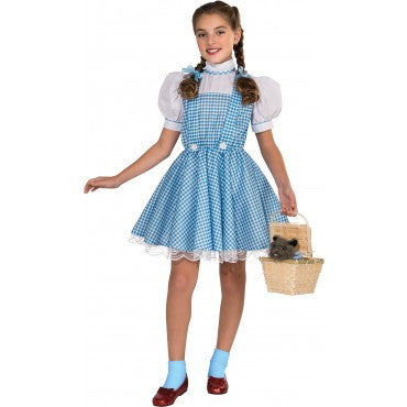 Girls Wizard of Oz Deluxe Dorothy Costume - HalloweenCostumes4U.com - Kids Costumes