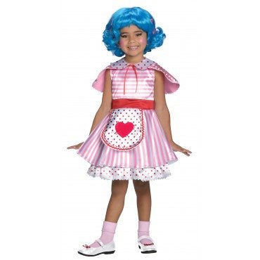 Girls Lalaloopsy Deluxe Rosy Bumps 'N' Bruises Costume - HalloweenCostumes4U.com - Kids Costumes