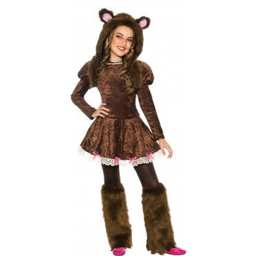 Girls Beary Adorable Costume - HalloweenCostumes4U.com - Kids Costumes
