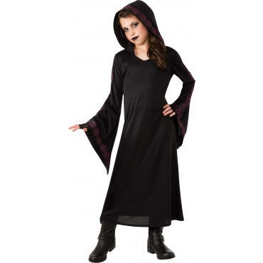 Girls Gothic Robe - HalloweenCostumes4U.com - Kids Costumes