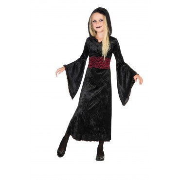 Girls Gothic Hauntress Costume - HalloweenCostumes4U.com - Kids Costumes