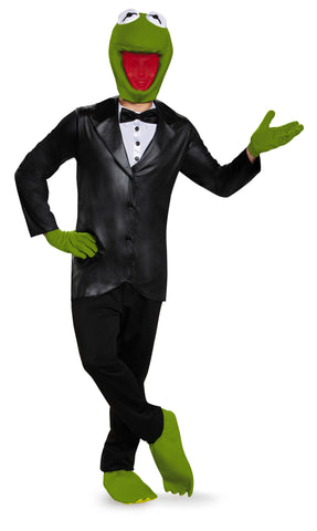 Mens Deluxe Formal Kermit Costume - HalloweenCostumes4U.com - Adult Costumes
