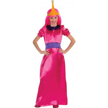 Girls Adventure Time Princess Bubblegum Costume - HalloweenCostumes4U.com - Kids Costumes