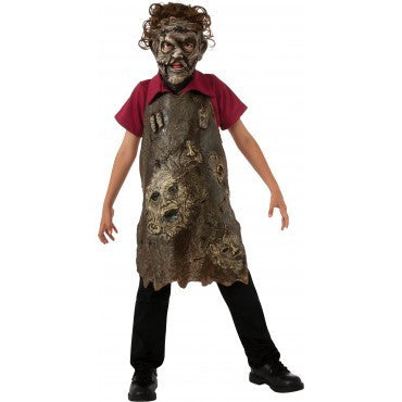 Boys Texas Chainsaw Massacre Leatherface Butcher's Apron of Souls - HalloweenCostumes4U.com - Kids Costumes