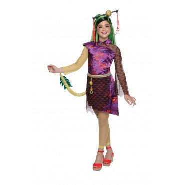 Girls Monster High Jinafire Long Costume - HalloweenCostumes4U.com - Kids Costumes