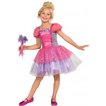 Girls Purple Garden Princess Costume - HalloweenCostumes4U.com - Kids Costumes