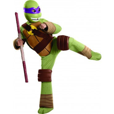 Boys Ninja Turtles Deluxe Donatello Costume - HalloweenCostumes4U.com - Kids Costumes