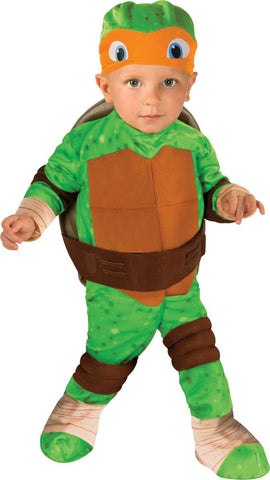 Infants/Toddlers Ninja Turtles Michelangelo Costume - HalloweenCostumes4U.com - Infant & Toddler Costumes