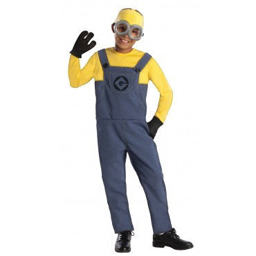 Boys Minion Dave Costume - HalloweenCostumes4U.com - Kids Costumes