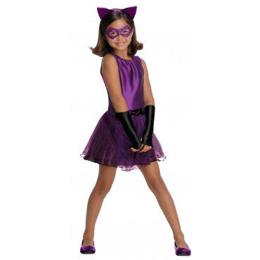 Girls Batman Catwoman Costume - HalloweenCostumes4U.com - Kids Costumes