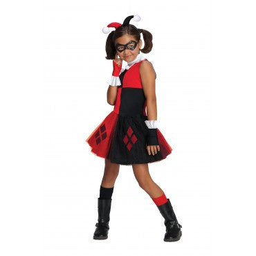 Girls Batman Harley Quinn Costume - HalloweenCostumes4U.com - Kids Costumes