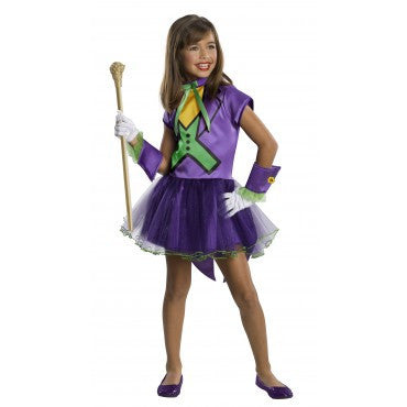 Girls Batman The Joker Tutu Costume - HalloweenCostumes4U.com - Kids Costumes