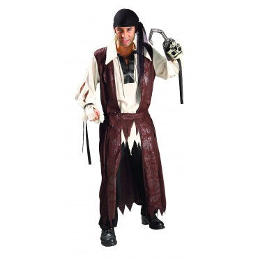Mens Caribbean Pirate Costume - HalloweenCostumes4U.com - Adult Costumes