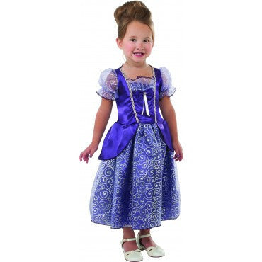 Girls Purple Princess Costume - HalloweenCostumes4U.com - Kids Costumes