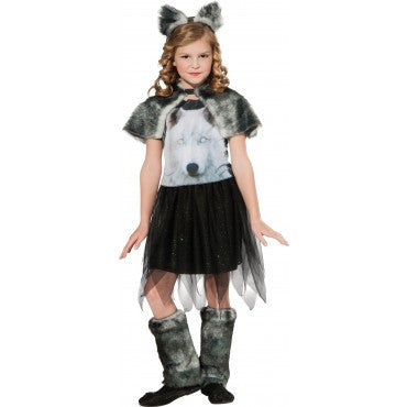 Girls Wolf of the Dawn Costume - HalloweenCostumes4U.com - Kids Costumes