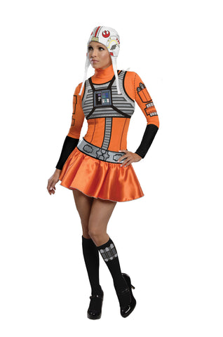 Womens/Teens Star Wars X-Wing Pilot Costume - HalloweenCostumes4U.com - Adult Costumes