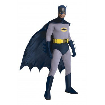 Mens Classic Batman Costume - Grand Heritage Collection - HalloweenCostumes4U.com - Adult Costumes