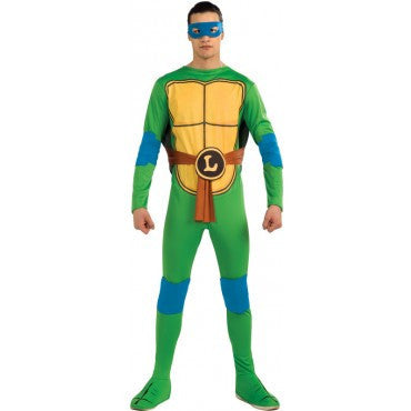 Mens Ninja Turtles Leonardo Costume - HalloweenCostumes4U.com - Adult Costumes