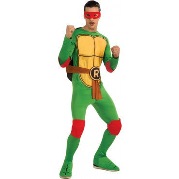 Mens Ninja Turtles Raphael Costume - HalloweenCostumes4U.com - Adult Costumes