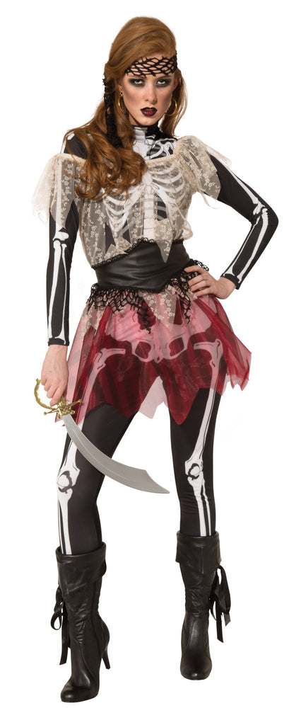 Womens Skellie Pirate Wench Costume - HalloweenCostumes4U.com - Adult Costumes