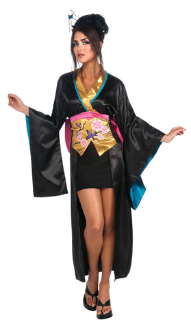 Adults Geisha Costume - HalloweenCostumes4U.com - Adult Costumes