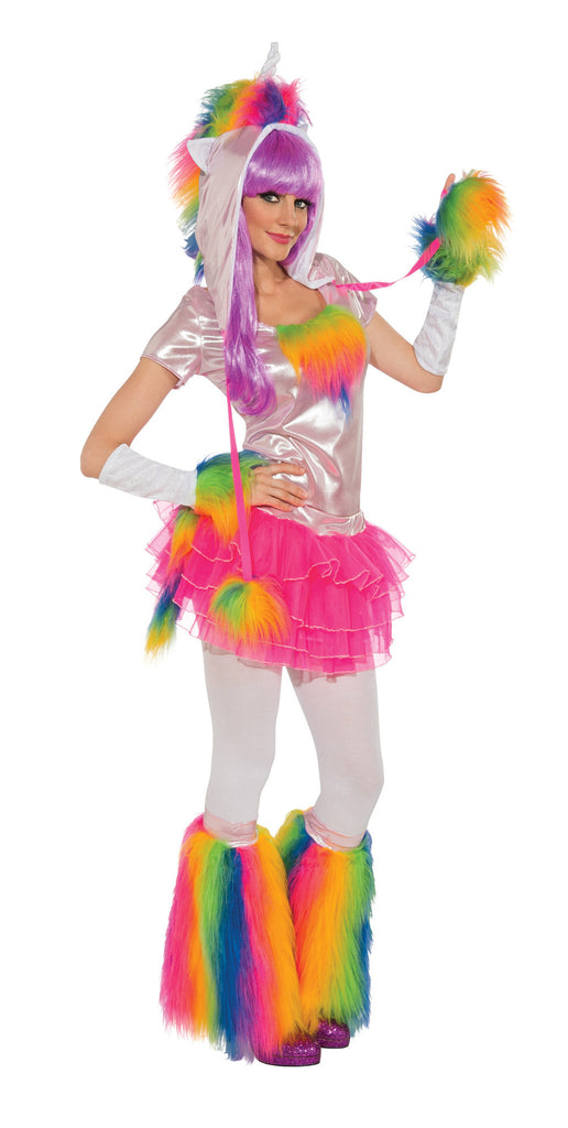 Womens Rainbow Unicorn Costume - HalloweenCostumes4U.com - Adult Costumes