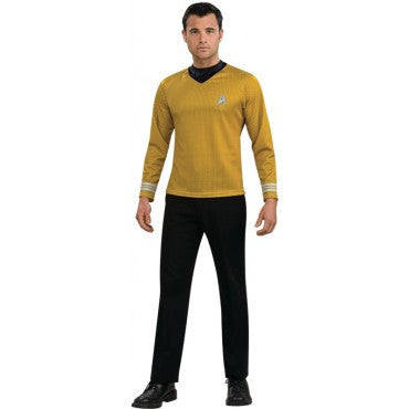 Mens Star Trek Captain Kirk Costume - HalloweenCostumes4U.com - Adult Costumes