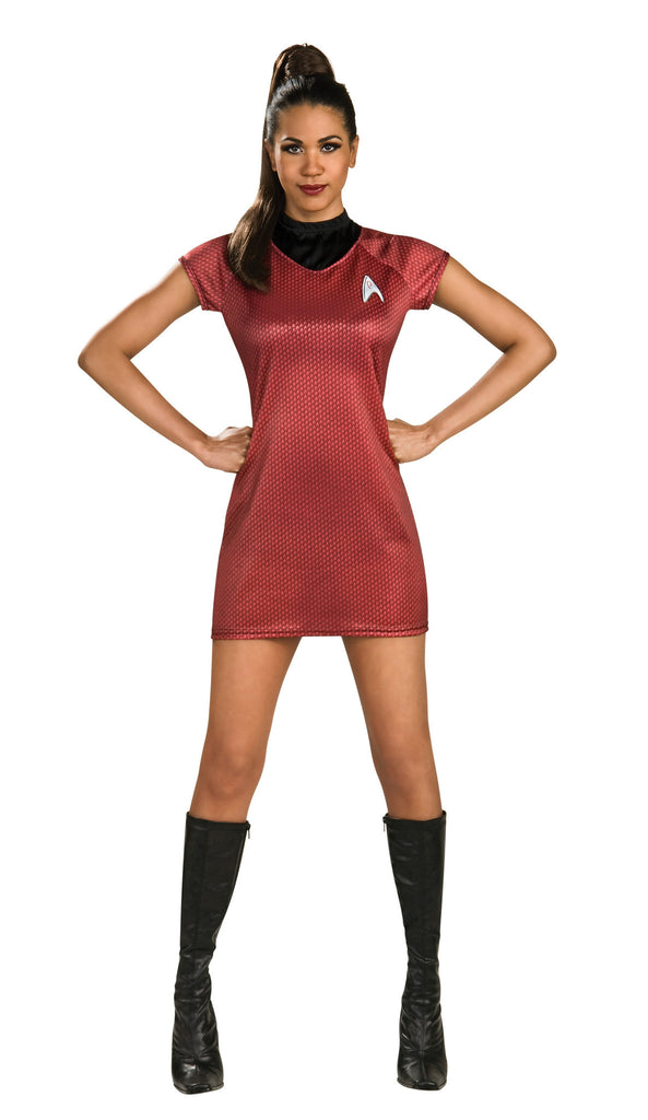 Womens Star Trek Uhura Costume - HalloweenCostumes4U.com - Adult Costumes