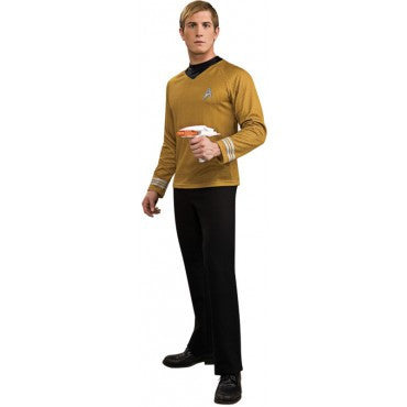 Mens Star Trek Deluxe  Captain Kirk Costume - HalloweenCostumes4U.com - Adult Costumes