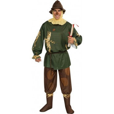 Mens Wizard of Oz Scarecrow Costume - HalloweenCostumes4U.com - Adult Costumes