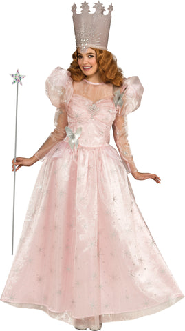 Womens Wizard of Oz Glinda the Good Witch Costume - HalloweenCostumes4U.com - Adult Costumes