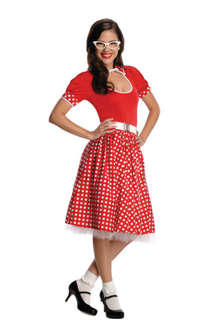 Womens/Teens 50s Nerd Costume - HalloweenCostumes4U.com - Adult Costumes