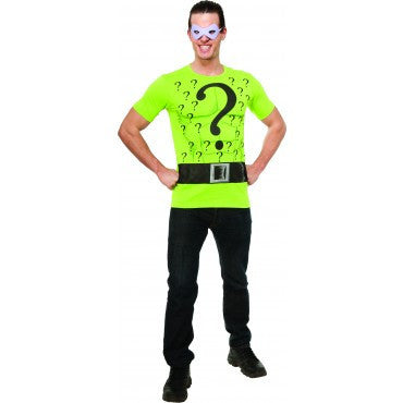 Mens Batman The Riddler Costume - HalloweenCostumes4U.com - Adult Costumes