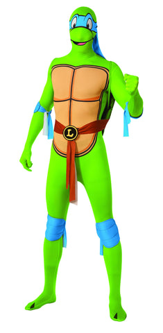 Adults Ninja Turtles Leonardo Skin Suit - HalloweenCostumes4U.com - Adult Costumes