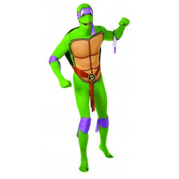 Mens Ninja Turtles Donatello Skin Suit - HalloweenCostumes4U.com - Adult Costumes