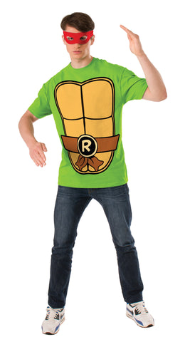 Adults Raphael Ninja Turtles Costume Top - HalloweenCostumes4U.com - Adult Costumes