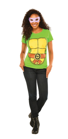 Womens Ninja Turtles Donatello Shirt - HalloweenCostumes4U.com - Adult Costumes